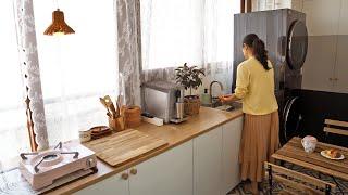 2평 베란다 이케아 싱크대로 세컨드 주방 만들기 | 김…