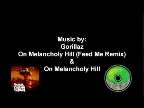Gorillaz - On Melancholy Hill (Feed Me remix) Mashed-up with Original