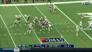 Julian Edelman Patriots Touchdown | Patriots vs Jets