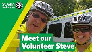 National Volunteers  Week - Meet Steve, a St John Ambulance Volunteer