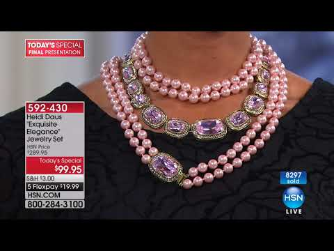 HSN | Heidi Daus Jewelry Designs 01.22.2018 - 10 PM