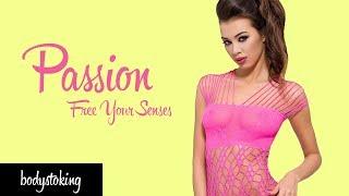 Бодистокинг Passion - комбинезон сетка - боди чулок