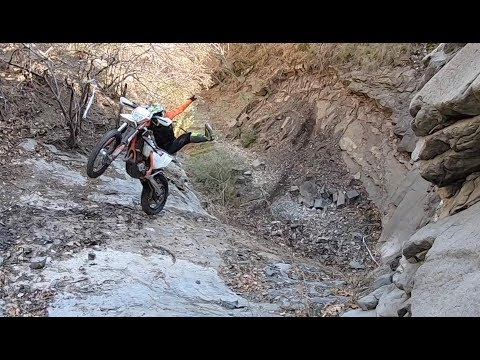 "Enduro In Waterfalls - Riding In ""Kings Valley"" - Georgia With KTM And Husqvarna Motorcycles"