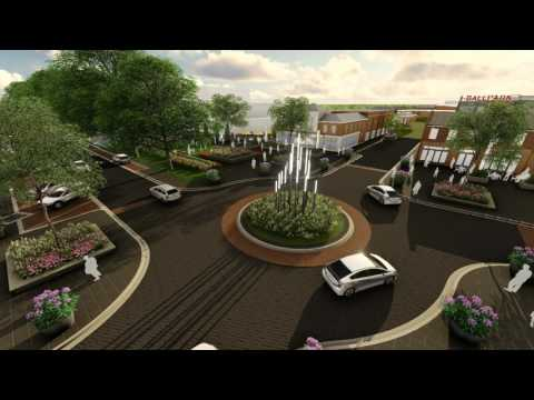 Kannapolis Streetscape - West Avenue Animation