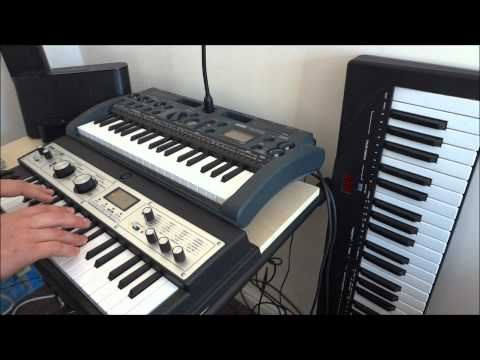 Sylvester Levay's Airwolf theme (Supercopter) remade and performed by skywalkman-GB on a synth