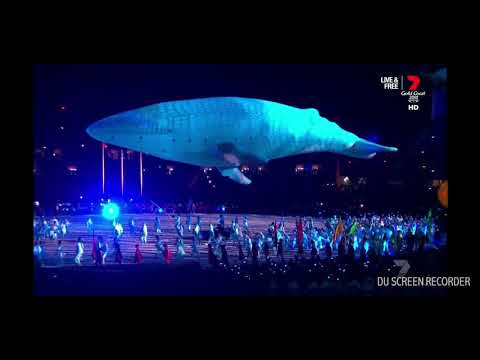 2018 Commonwealth Games Gold Coast, Australia | Opening Ceremony | Delta Goodrem - Welcome to Earth
