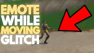 How to emote while moving glitch in Fortnite Battle royale | Ps4/Xbox one/Pc
