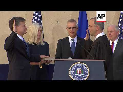 Wray Installed as FBI Director, Replaces Comey