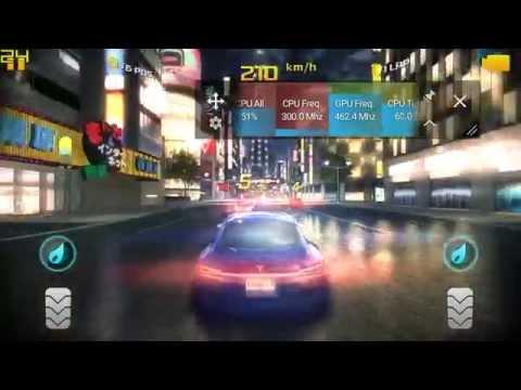 Xperia z2 adreno 330 asphalt 8 FPS