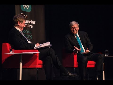 Kevin Rudd and Kerry O'Brien