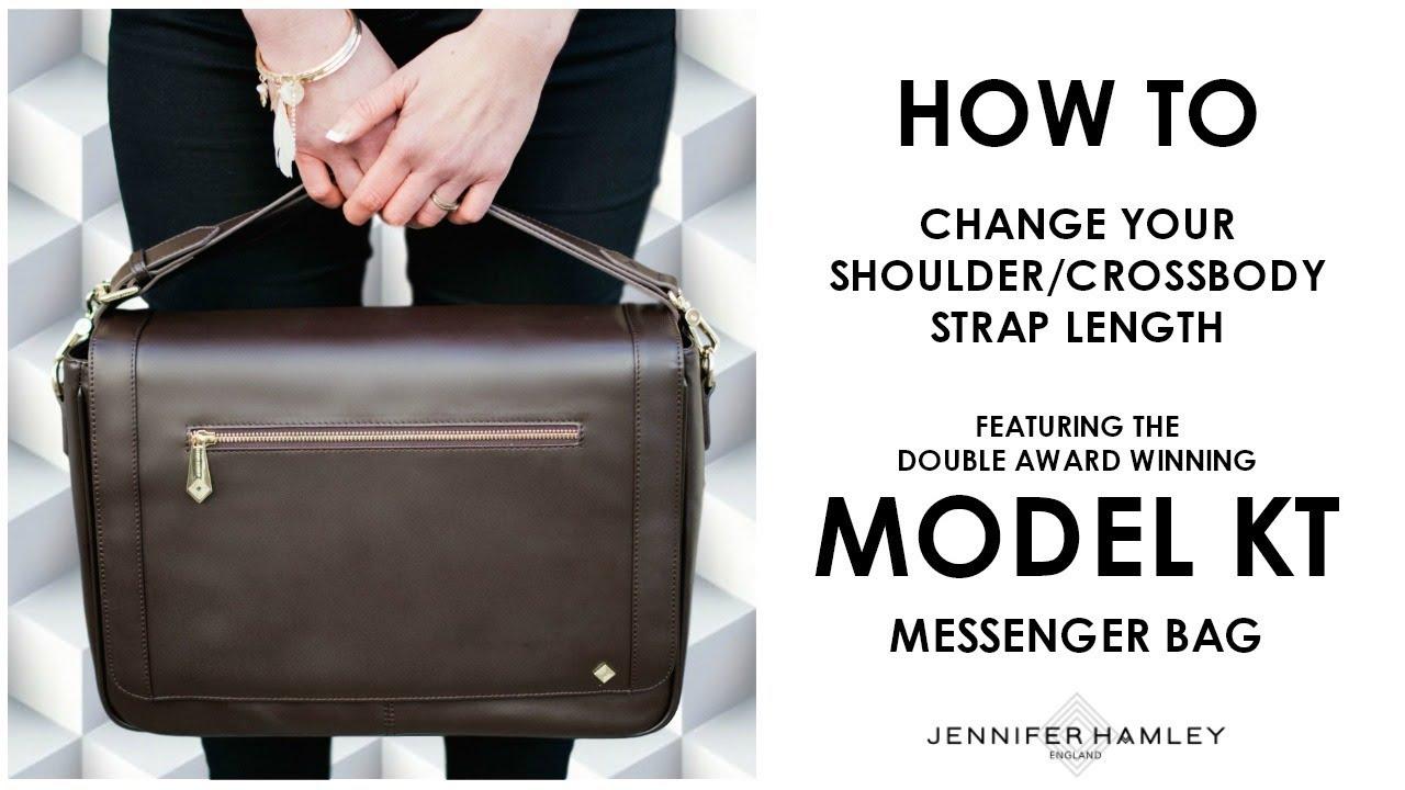 cb6663232c1a How to make a long handbag strap shorter   crossbody to shoulder strap - Jennifer  Hamley