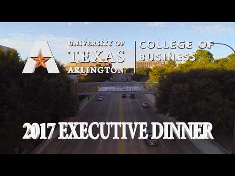 UTA College of Business | 2017 Executive Dinner
