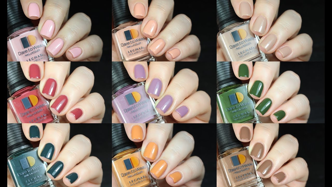 Lechat Nails Exposed And Modern Muse Live Swatch Review