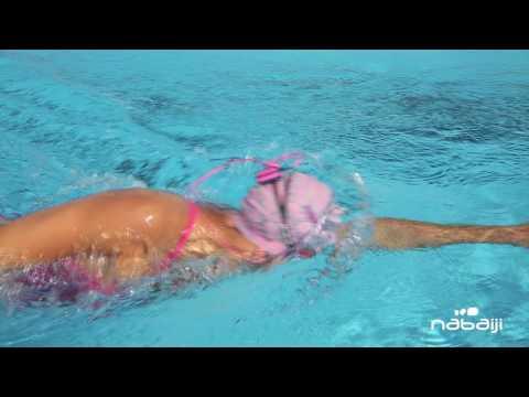 Ecouter la musique en natation avec le SWIMMUSIC 100 - Nabaiji