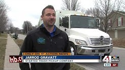 Man starts own waste company after KC trash woes
