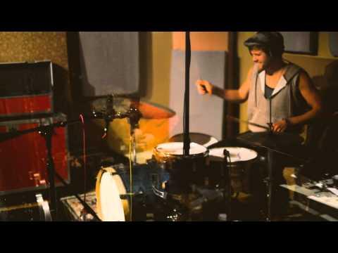 Studio drumming clip