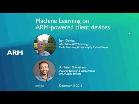 Machine learning on ARM-powered client devices