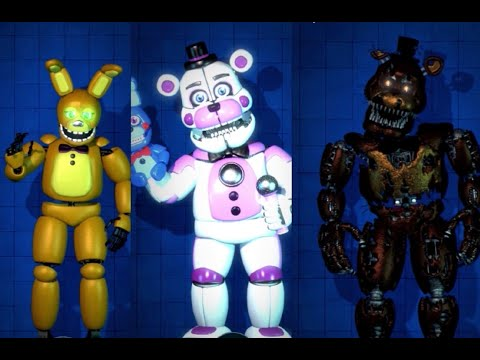 (FNaF AR) Custom Characters