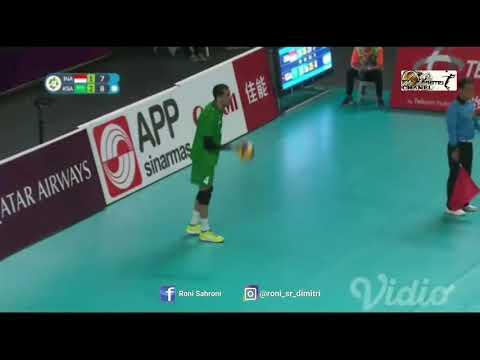 INDONESIA VS ARAB SAUDI VOLLY BALL ASIAN GAMES 2018