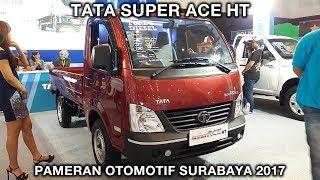Tata Super Ace HT 2017 - Exterior and Interior - Pameran Otomotif Surabaya 2017 Video