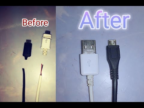 How To Repair Mobile Charger Cable