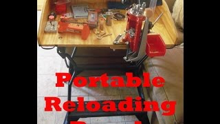 My Portable Reloading Bench - Part 1