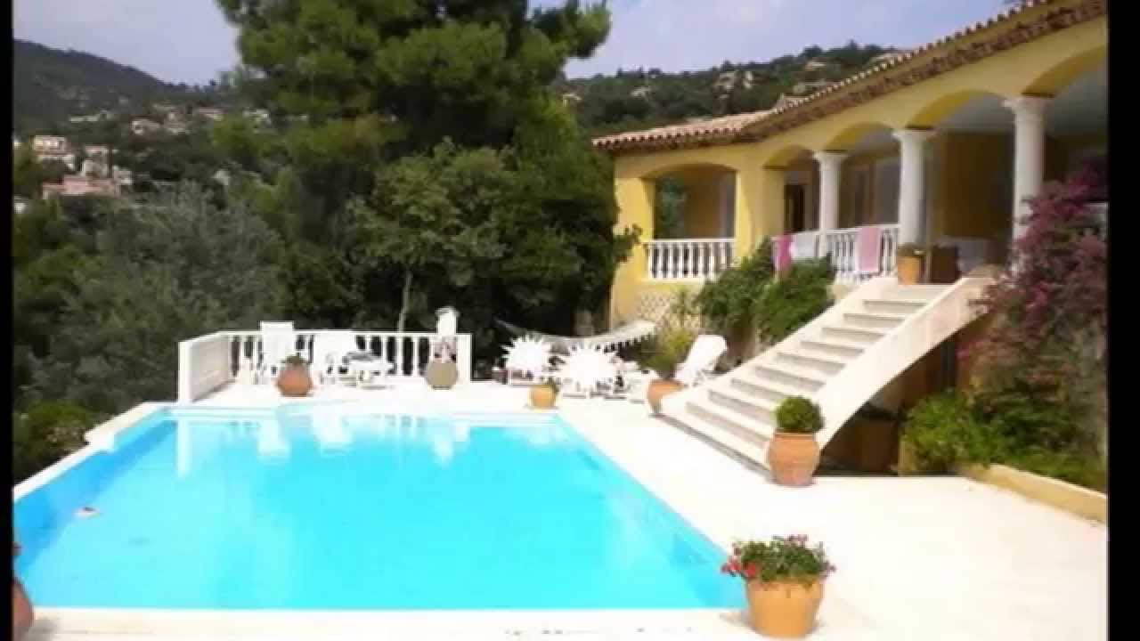 achat vente villa piscine d bordement corniche du rayol canadel r f 213 vm youtube