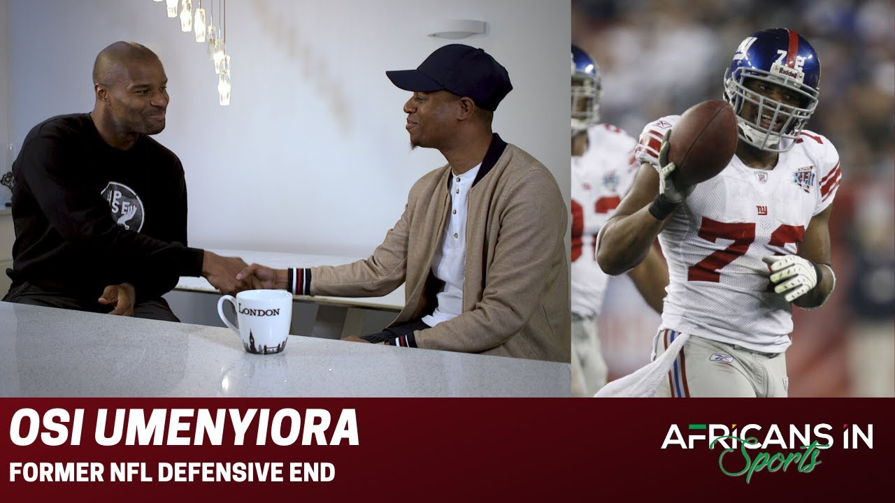 AIS S1E1: Osi Umenyiora talks about how he went from school suspension to becoming an NFL legend