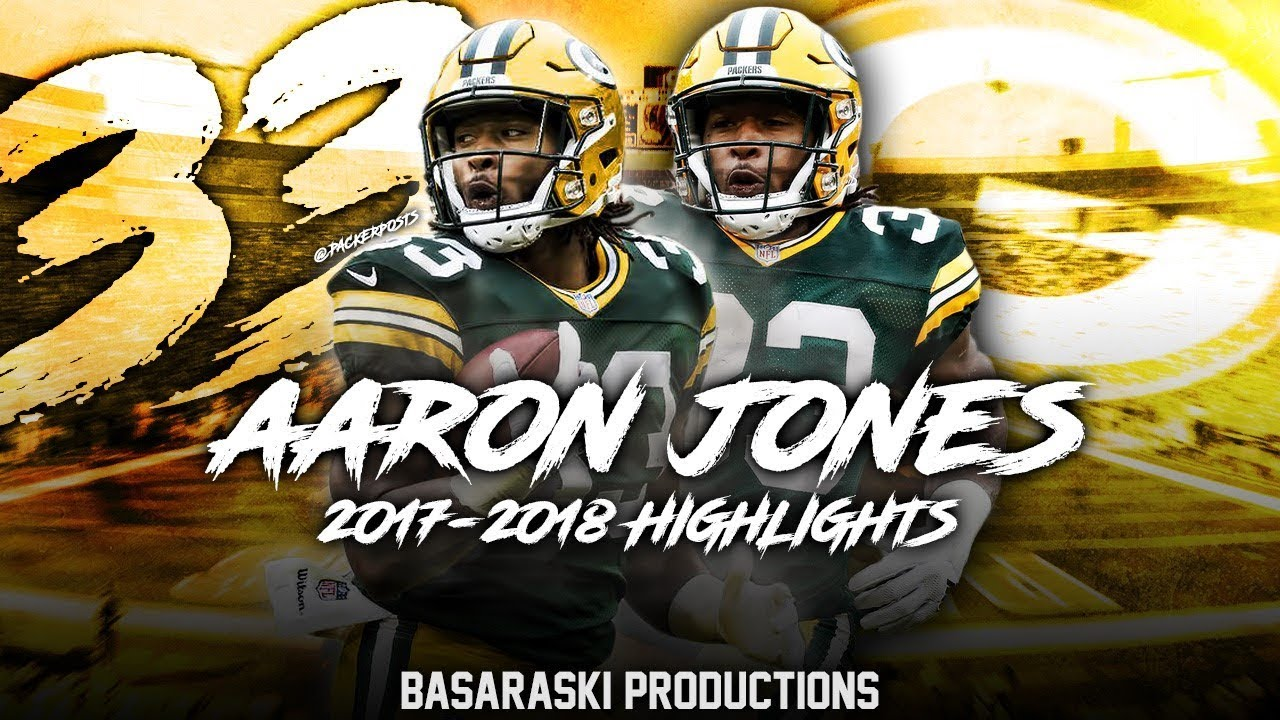 Aaron Jones 2017 18 Season Highlights Youtube