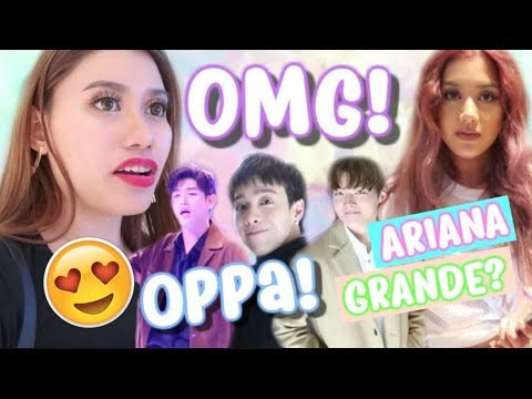 ANG DAMING OPPA! AT BES SI ARIANA GRANDE!!! (SHOOKT AKO!) 💜 Purpleheiress Vlogs