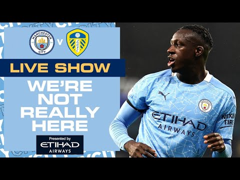 MANCHESTER CITY v LEEDS UNITED | PREMIER LEAGUE | WNRH LIVE SHOW