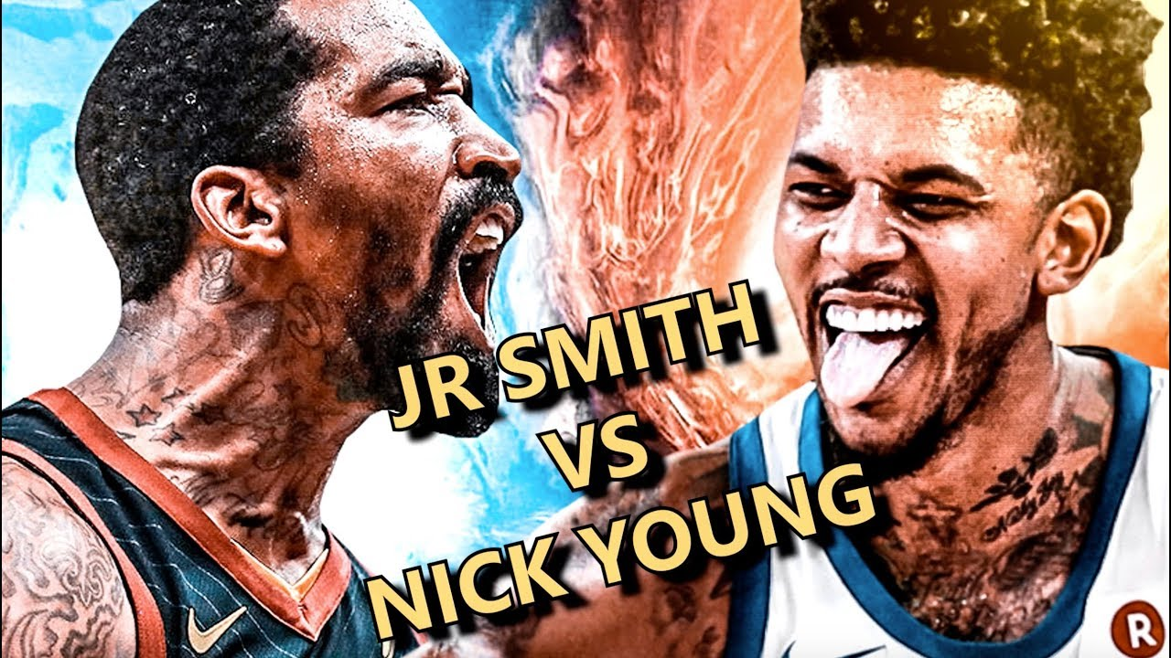 0058f1f70254 Nick Young vs. J.R. Smith  The Biggest NBA Finals Matchup of Our Lives