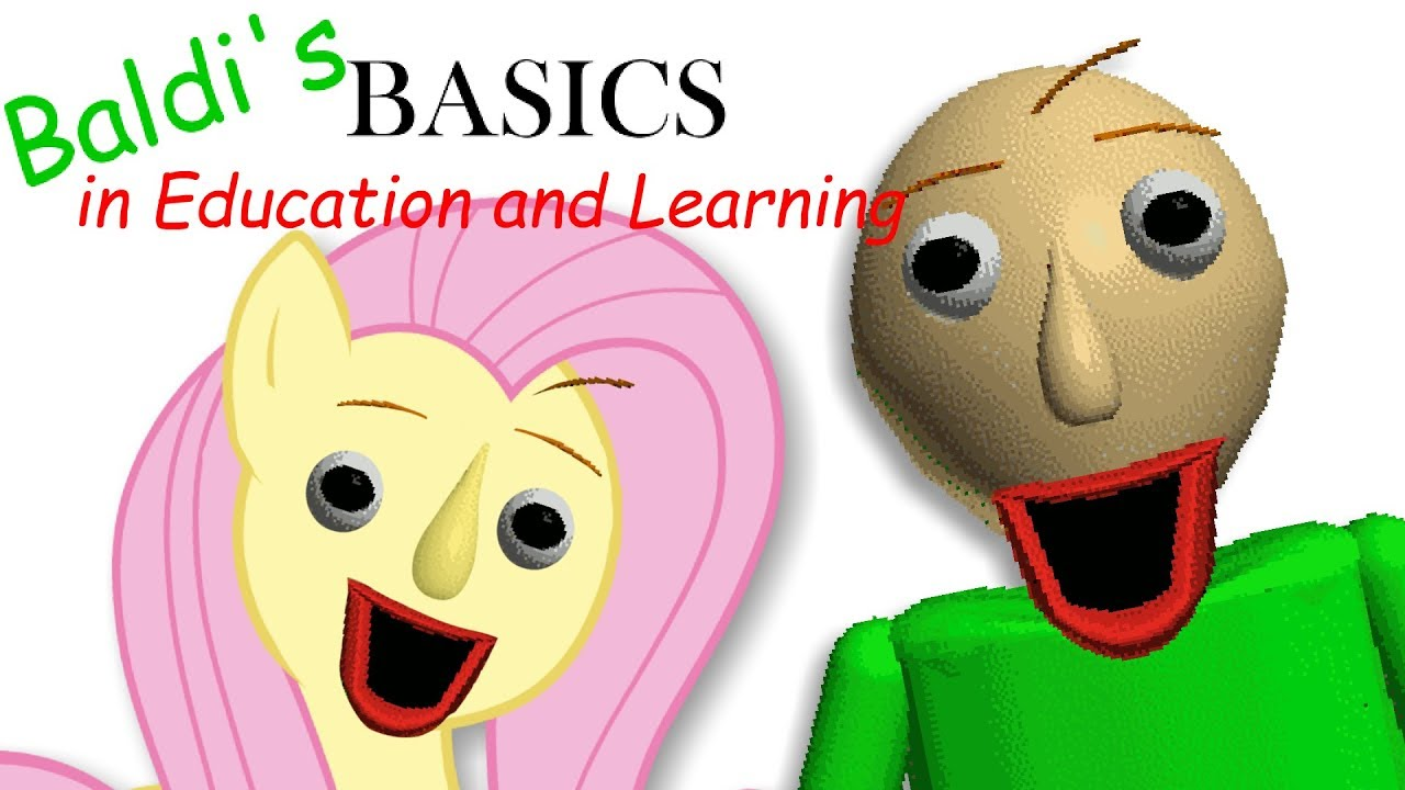 fluttershy-plays-baldi-s-basics-in-education-and-learning-one-of-us