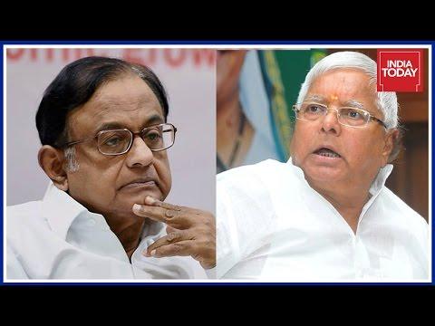Raids On Chidambaram & Lalu A Case Of Political Vendetta ?   Rajdeep Asks