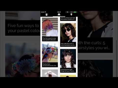 Style My Hair Frisuren Und Haarfarben Apps Bei Google Play