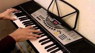 Главная тема из фильма Матрица . Piano tutorial