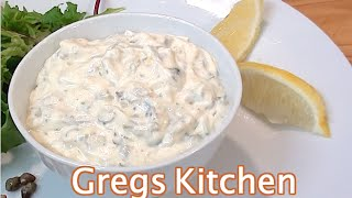 HOW TO MAKE TARTAR SAUCE - Greg's Kitchen