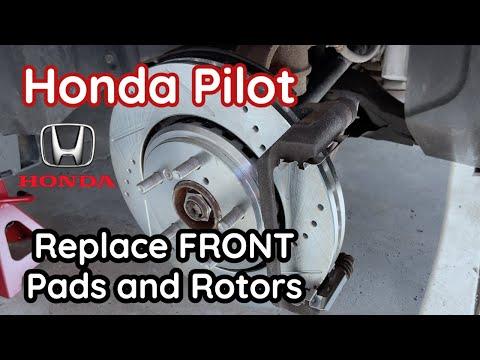How to Change Honda Pilot Brakes – Pads and Rotors – 2016, 2017, 2018, 2019, 2020   DIY   Fix Brakes