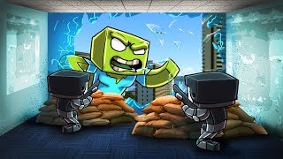 Minecraft | Noob vs Pro - PROTECT YOUR BASE FROM ZOMBIES! (Noobs)