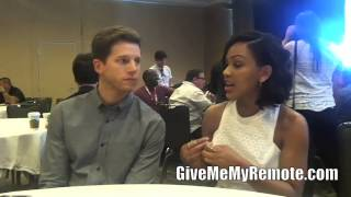 MINORITY REPORT: Meagan Good and Stark Sands Preview Their On-Screen Partnership