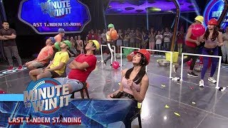 Head Bang | Minute To Win It - Last Tandem Standing