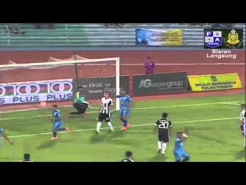 Amazing Free Kick Faiz Subri | Penang FA vs Pahang FA 2016