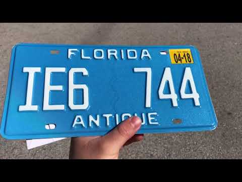 Antique plate on my 1987 chevy sprint  sc 1 st  YouTube & CDL suspended? Antique plate on my 1987 chevy sprint - YouTube