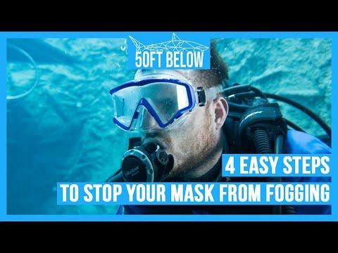 Stop Your Scuba Mask Fogging!   4 Easy Anti-Fog Tips!   Scuba Advice