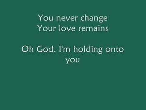 Paul Colman - Holding Onto You (with Lyrics)