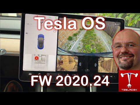 #204 Tesla OS FW 2020.24 | Teslacek