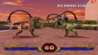 Warpath: Jurassic Park [PS1] - play as Alberto