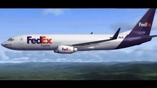 Microsoft Flight Simulator X + Acceleration, P. Mallorca-Reus {FedEx Cargo} 1 de 2