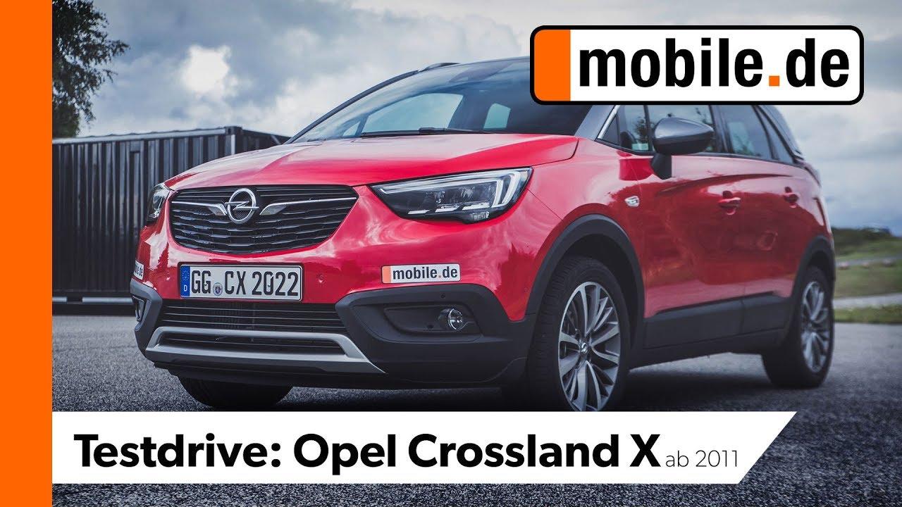 Opel Crossland X Ab 2017 Mobilede Testdrive Youtube
