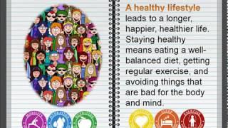 """Второе видео по английскому языку из серии Аудирование: topics. Возможно, будет полезно для тех кто готовит устное сообщение теме """"Здоровый образ жизни"""" и..."""